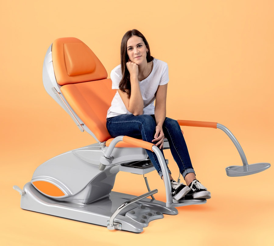 Schmitz Arco-matic Chair Orange