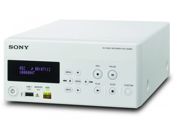 Sony HVO-500MD/SUR (Surgical Version) Full HD Medical Recorder for USB and NAS External Media with Still Image Capture