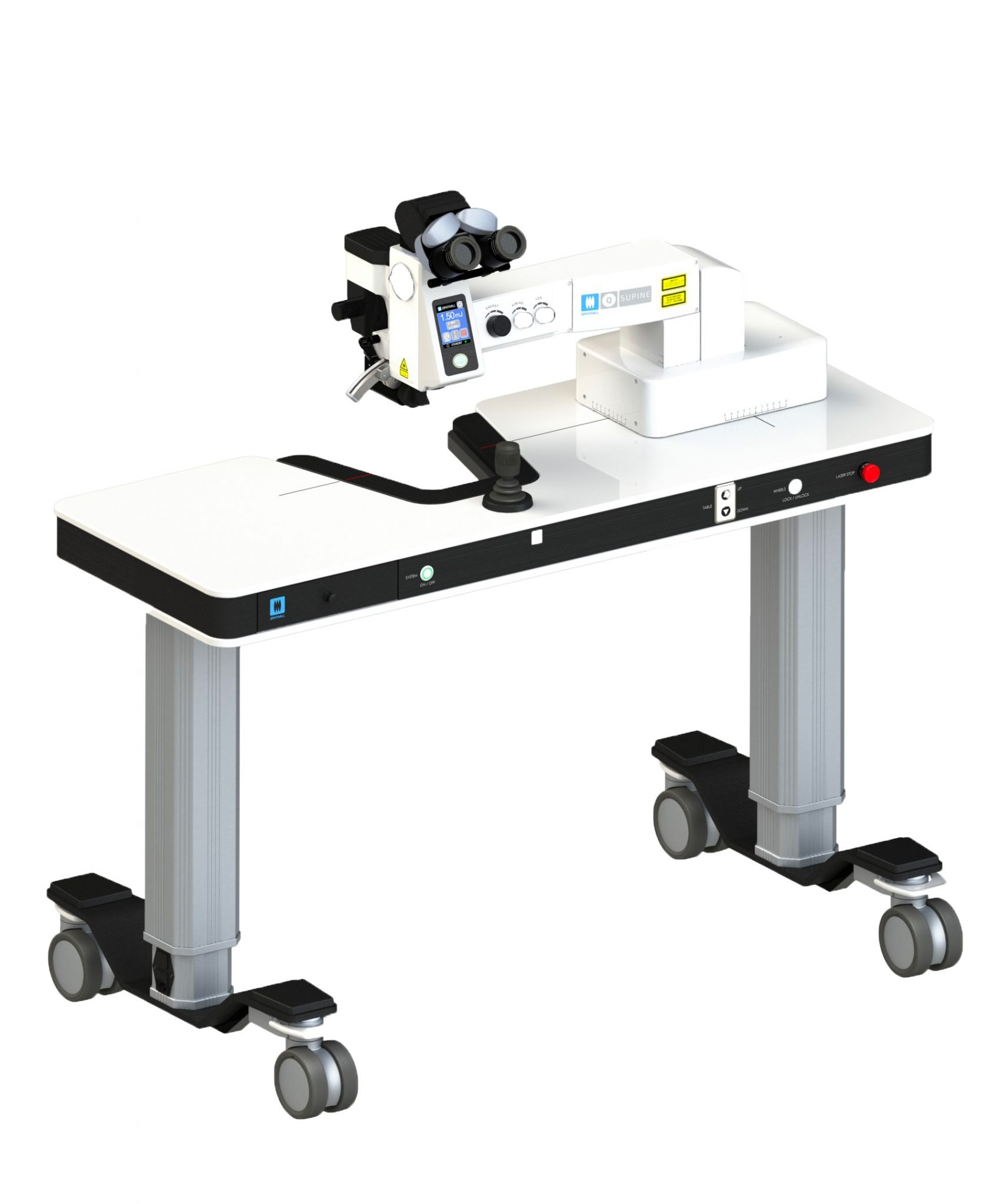 Extreme Ophthall Q-Supine ND:YAG Laser
